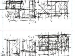 店沿いの家: 長井建築設計室が手掛けたです。