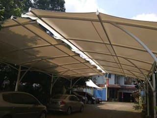 Tenda Membrane Oleh bintang canopy Minimalis