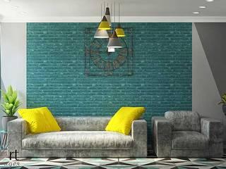 Дизайн однокомнатной квартиры Гостиная в стиле минимализм от Арт-Идея Минимализм