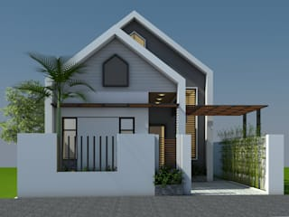 Công ty TNHH CND Associates - Kiến trúc CND Casa di campagna Nero