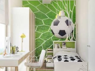 Детская комната для мальчика Детская комнатa в стиле минимализм от Арт-Идея Минимализм