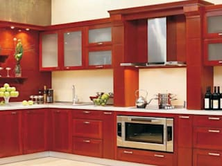 Residential Interior Asian style kitchen by Manoj Interior Decorator Asian