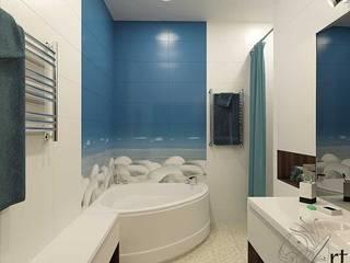 Дизайн санузла Ванная комната в стиле минимализм от Арт-Идея Минимализм