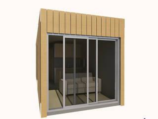 Casa Modular : Bungalows  por TANGENT PRIORITY- UNIPESSOAL LDA