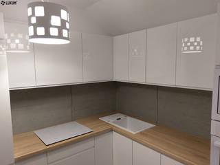 Scandinavian style kitchen by Luxum Scandinavian