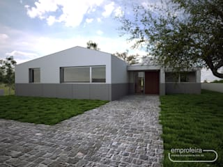 von Emprofeira - empresa de projectos da Feira, Lda. Minimalistisch