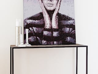 Musterwohnung Bremen Überseestadt Nicole Schütz Home Staging Kunst Bilder & Gemälde Grau