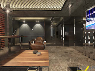 UDARIO İç Mimarlık – O.A Ofis:  tarz Ofis Alanları