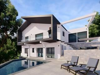 Progetto per l'ammodernamento esterno di villa provenzale MBquadro Architetti