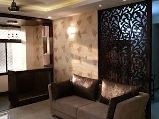 Silver Oaks Gurgaon Modern living room by Radian Design & Contracts Modern