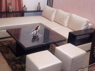 House Indirapuram Modern living room by Radian Design & Contracts Modern