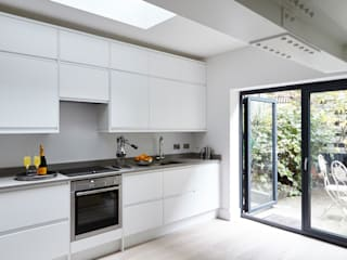 Pimlico Extension Adventure In Architecture Cocinas de estilo moderno