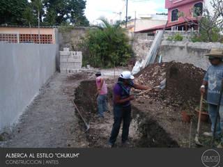 Iniciando la excavación :  de estilo  por Ismos Arquitectos