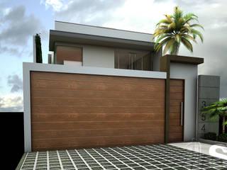 Soluciones Técnicas y de Arquitectura Modern garage/shed