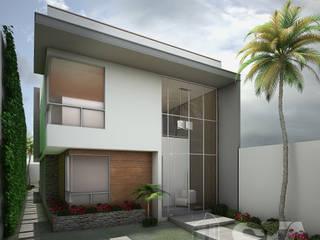 : Casas de estilo  por Soluciones Técnicas y de Arquitectura
