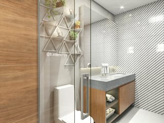 Modern bathroom by Bruna Rodrigues Designer de Interiores Modern