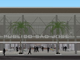 Commercial Spaces by 3D Arquitetura, Modern