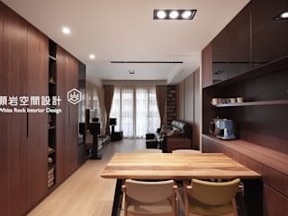 顥岩空間設計 Minimalist kitchen