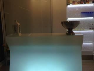Barras de bar iluminadas de goGarden Moderno