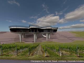 Champagner Bar Ausgefallene Bars & Clubs von Peter Stasek Architects - Corporate Architecture Ausgefallen