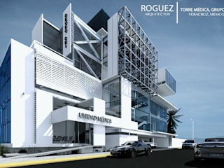 modern  by Roguez Arquitectos, Modern