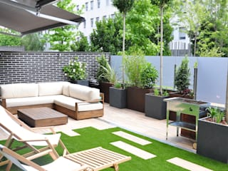 ésverd - jardineria & paisatgisme Modern Balkon, Veranda & Teras