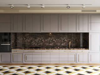 Кухня «Мэдисон»: Кухни в . Автор – Decolabs Home