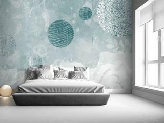 Pianeti e fiori- ambientazione Angela Capacchione Design Camera da lettoAccessori & Decorazioni Tessuti