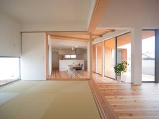 西国分の家: 株式会社田渕建築設計事務所が手掛けた和室です。,