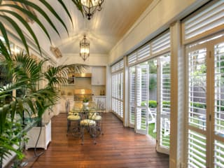 Aluminium Shutters - Outdoor Rooms by TWO Australia Colonial