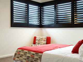 Bedroom Plantation Shutters Modern Bedroom by TWO Australia Modern