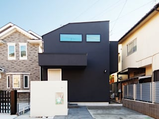Wooden houses by TERAJIMA ARCHITECTS, Modern