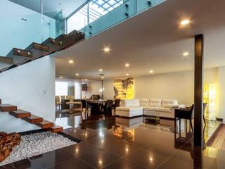 Salas de estilo moderno de SANTIAGO PARDO ARQUITECTO Moderno