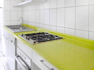 Remodelación Cocina Depto Dalia ARCOP Arquitectura & Construcción Cocinas de estilo moderno