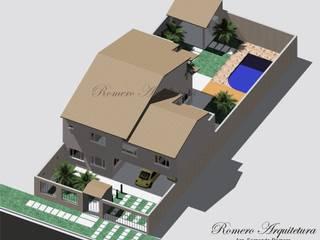 모던스타일 주택 by Romero Arquitetura 모던