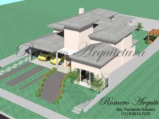 Casas modernas de Romero Arquitetura Moderno