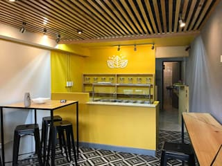 Mostaza y miel : Restaurantes de estilo  por Taller La Semilla
