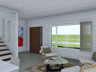ARBOL Arquitectos Classic style living room