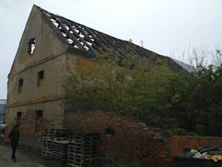 Nowy Spichlerz, Pleszew. od 05PM-ARCHITEKT Rustykalny