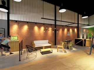de Hizzey Arquitetura e Interiores Industrial