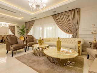 Casa Verde Hany Saad Innovations Classic style living room