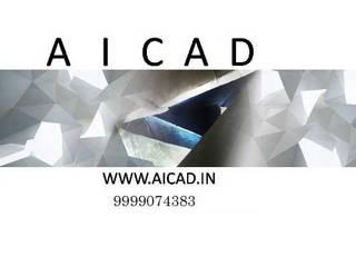 Aicad Architects in Delhi | Residential Architects in South Delhi | Architecture Firms in South Delhi, Kalkaji by Aicad Studio Modern