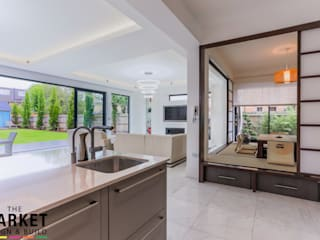Teddington Extension And Refurbishment Cocinas modernas de The Market Design & Build Moderno