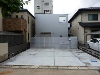 神宮の家 モダンな 家 の 奥田建築設計事務所 モダン