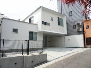 松ヶ鼻の家 モダンな 家 の 奥田建築設計事務所 モダン