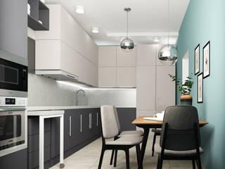 Квартира в Туле: Кухни в . Автор – Yana Ikrina Design