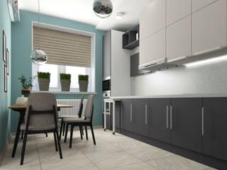 Квартира в Туле: Кухонные блоки в . Автор – Yana Ikrina Design