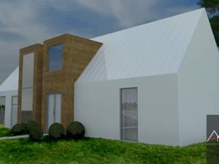 Projekt domu: styl , w kategorii  zaprojektowany przez Architega Sp. z o.o.
