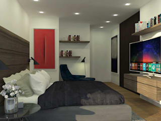 C | C INTERIOR ARCHITECTURE Modern style bedroom