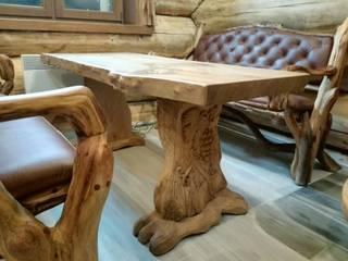 Мебель для бани и сауны:  в . Автор – Мастерская Художественной Мебели DerevoDekor , Кантри